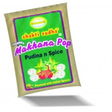 GORGON NUT ( MAKHANA ) ROASTED SNACK 100GM PUDINA n SPICE