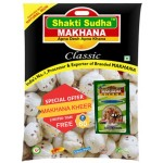 GORGON NUT ( MAKHANA ) CLASSIC 1KG ECONOMY WITH 100 GM KHEER MIX FREE