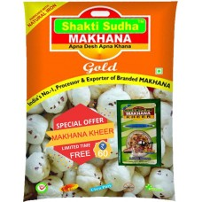 GORGON NUT (MAKHANA)  GOLD 1KG PREMIUM QUALITY  100 GM KHEER MIX FREE